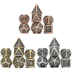Plated Ancient Metal dice
