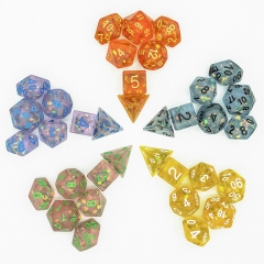 Frosted Mermaid Dice