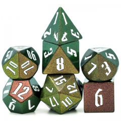 Light Change Colorful DND Dice(Rose Red,Green,Gloden)