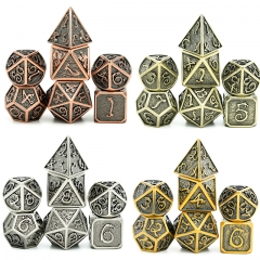 Clouds Dragon Plated Ancient Metal dice