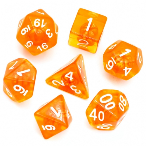 Orange Tangerine Dice