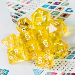 Yellow Circle Dice